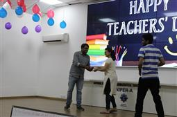 Teacher's day celebration At NIPER -A ,2018