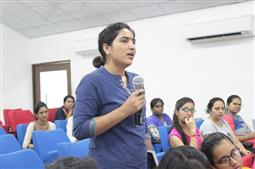 Talk By Dr Nisha Goswami on Personal Hygiene and Sanitation At NIPER-A