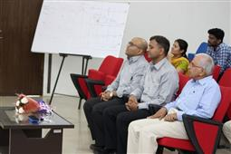 Invited Talk on Science behind effective coating by Dr. Nitish Shah