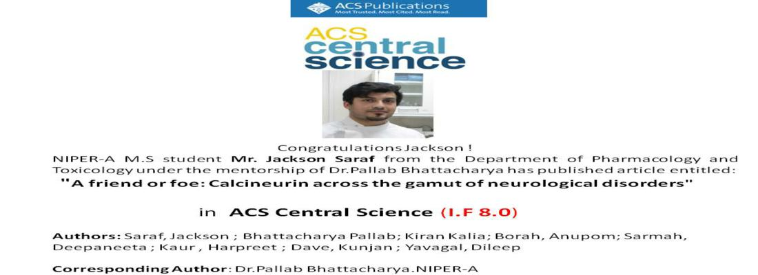 Publications In ACS Central Science